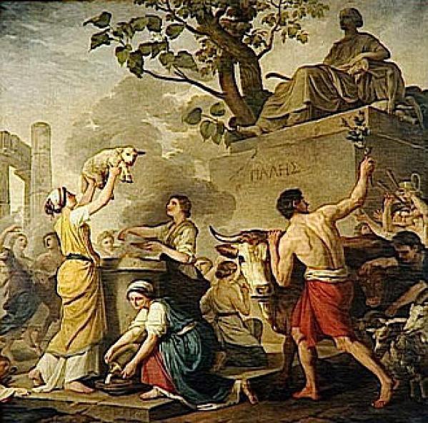 Festa di Pales, o L'estate (1783) Joseph-Benoît Suvée